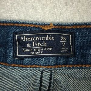 Abercrombie & Fitch Shorts - Abercrombie & Fitch Annie High Rise Shorts Size 26